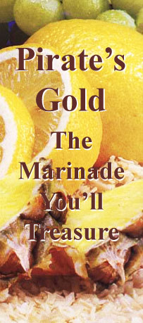 Pirate's Gold - The Gold Standard of Marinades